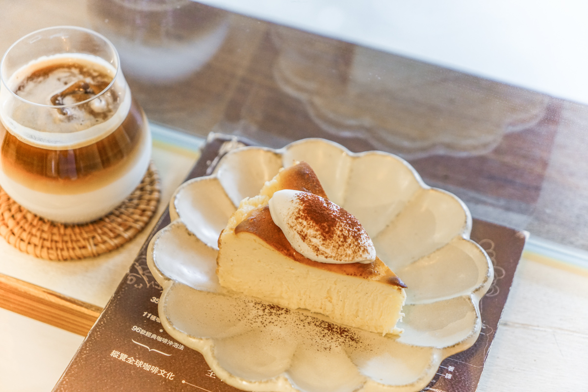 台北信義區、台北101甜點咖啡下午茶 冰淇淋口感巴斯克蛋糕推薦『大山咖啡店』 @梅格(Angelababy)享樂日記