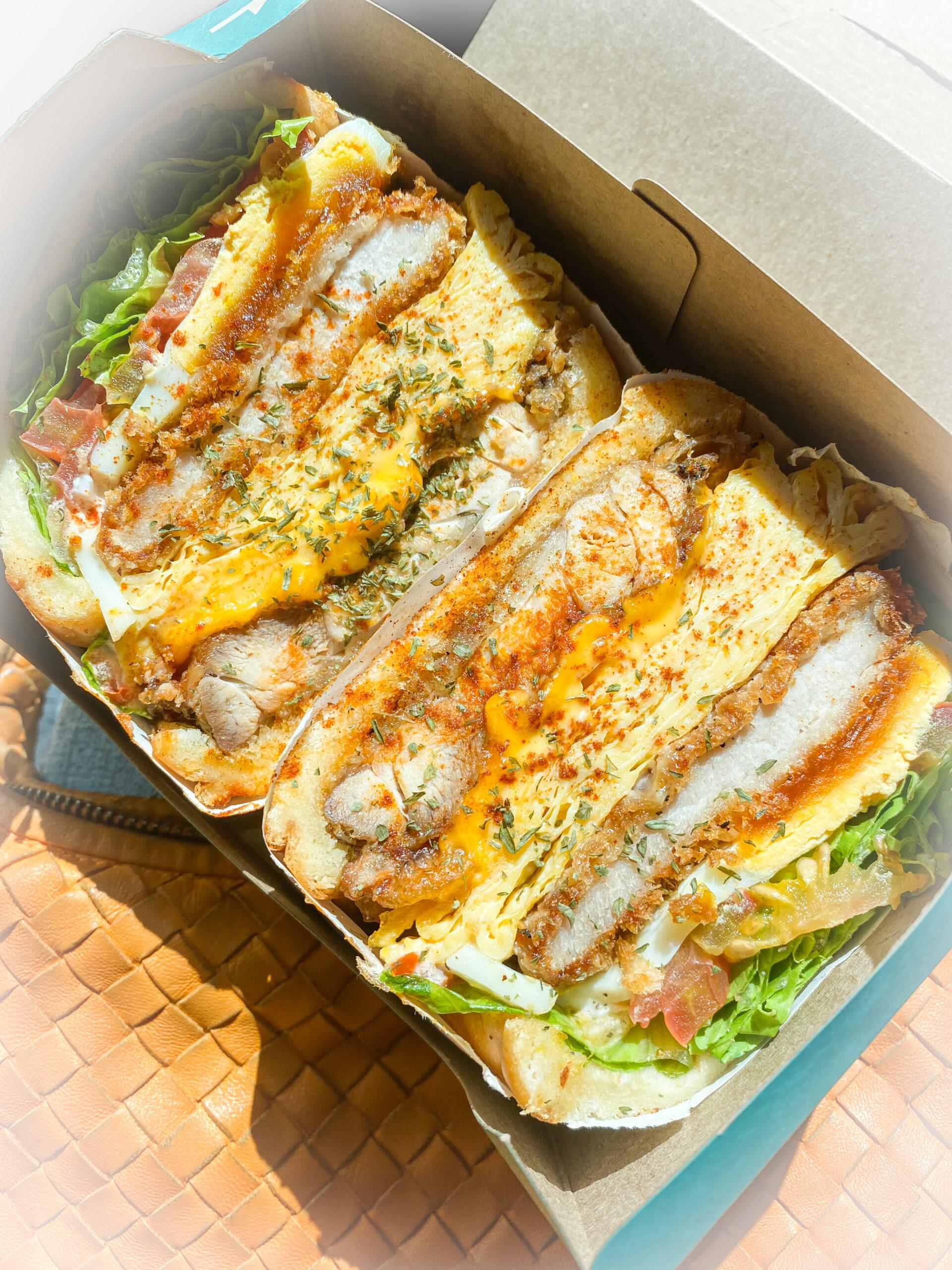 南京三民站排隊早午餐|城市小綠洲、爆料三明治推薦『happiness day 幸福的一天』菜單、外帶三明治、外帶早餐 @梅格(Angelababy)享樂日記