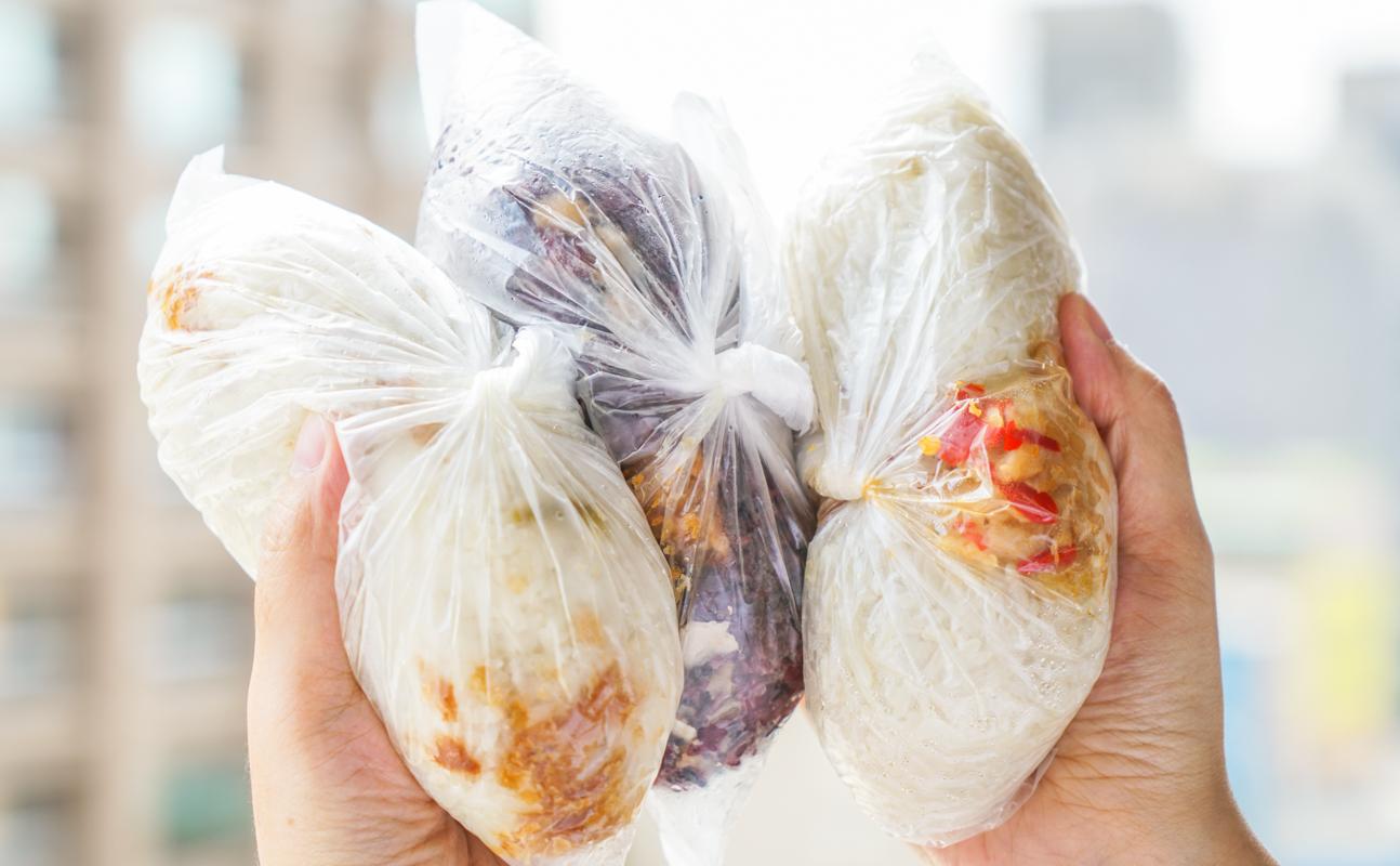 新莊早餐|30元起超Q米芯的爆料大飯糰『幸福飯糰』新莊傳統早餐推薦 @梅格(Angelababy)享樂日記