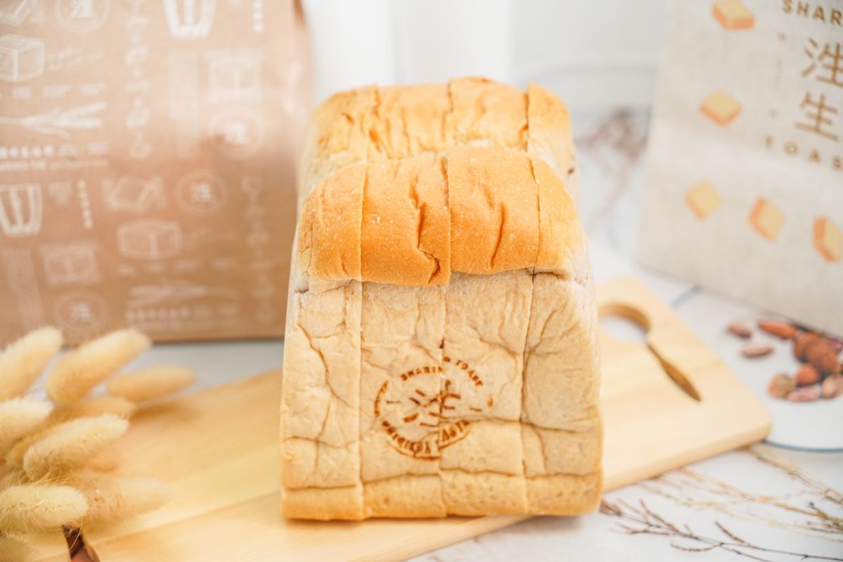 新竹超人氣麵包|用柔軟征服世界的吐司『泩生吐司 竹北店』、新竹生吐司、台灣人的生吐司專賣店 @梅格(Angelababy)享樂日記