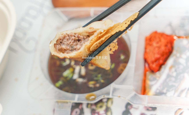 台北無菜單鐵板外帶餐盒|人生必吃一次的頂級海鮮撈麵、一咬爆汁的和牛煎餃『Will's Teppanyaki』 @梅格(Angelababy)享樂日記
