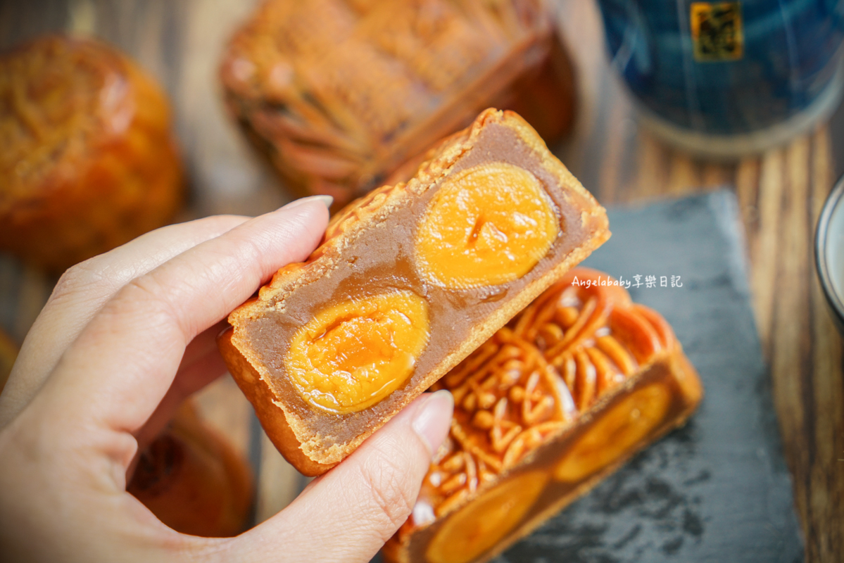 中秋禮盒推薦、金馬獎指定伴手禮、月餅預購15% off|來自香港的手工月餅『奇華餅家』 @梅格(Angelababy)享樂日記