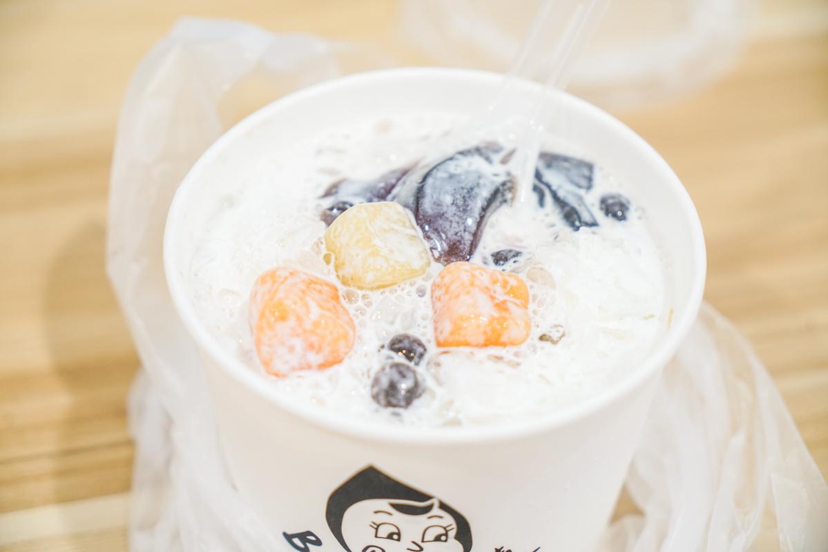 新莊美食|芋頭控必吃的手工芋泥芋圓甜品專賣店、新莊廟街必吃美味甜點『BELLA 貝拉甜品專賣』菜單 @梅格(Angelababy)享樂日記