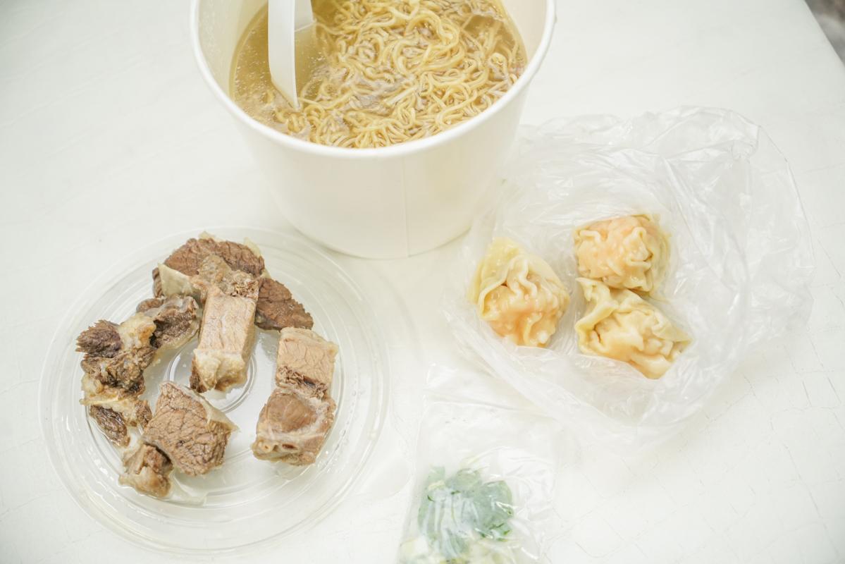 遼寧街美食 懷念香港雲吞湯配生麵的朋友一定要吃看看『大膽牛腩麵』 @梅格(Angelababy)享樂日記