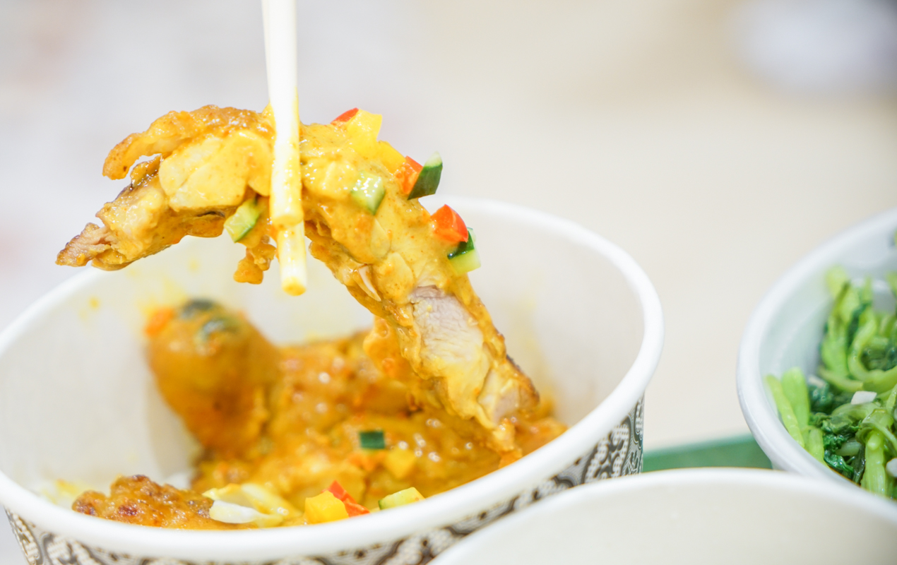 水上米 新莊最美泰式料理|百元外帶泰式餐盒也太划算了!新北新莊餐廳聚餐推薦、新莊開放內用餐廳、菜單 @梅格(Angelababy)享樂日記