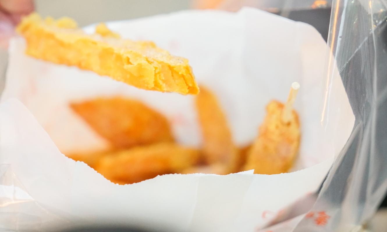 台中逢甲必吃 單賣一款甘梅薯條就可以熱賣超過10年『家家福 甘梅薯條』逢甲美食、台中必吃 @梅格(Angelababy)享樂日記