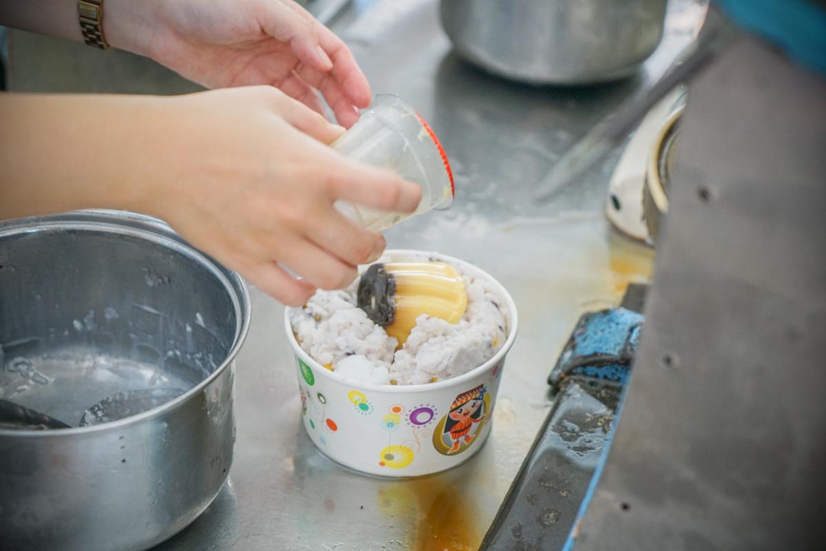 宜蘭頭城美食|飄香半世紀的好吃傳統手工綿綿牛奶八寶冰『小涼園冰菓室』菜單、頭城必吃 @梅格(Angelababy)享樂日記