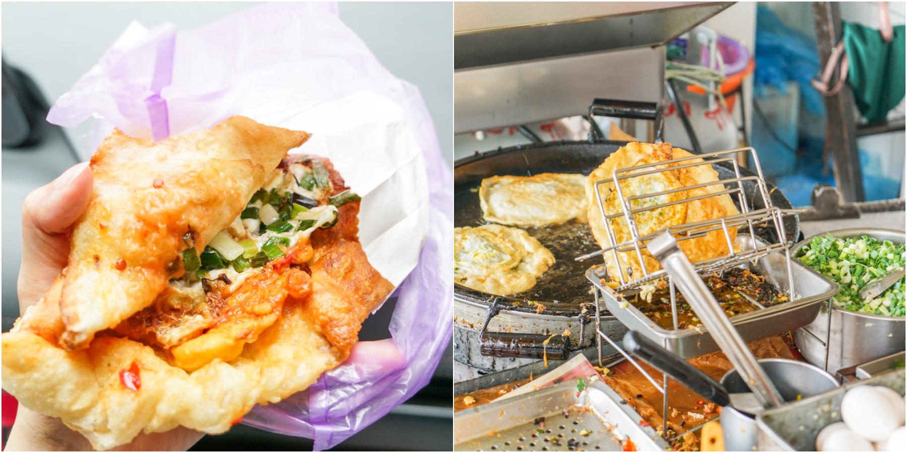 頭城美食|超好吃蔥多多酥香QQ蔥油餅、宜蘭必吃排隊美食『頂埔 阿嬤蔥油餅』 @梅格(Angelababy)享樂日記