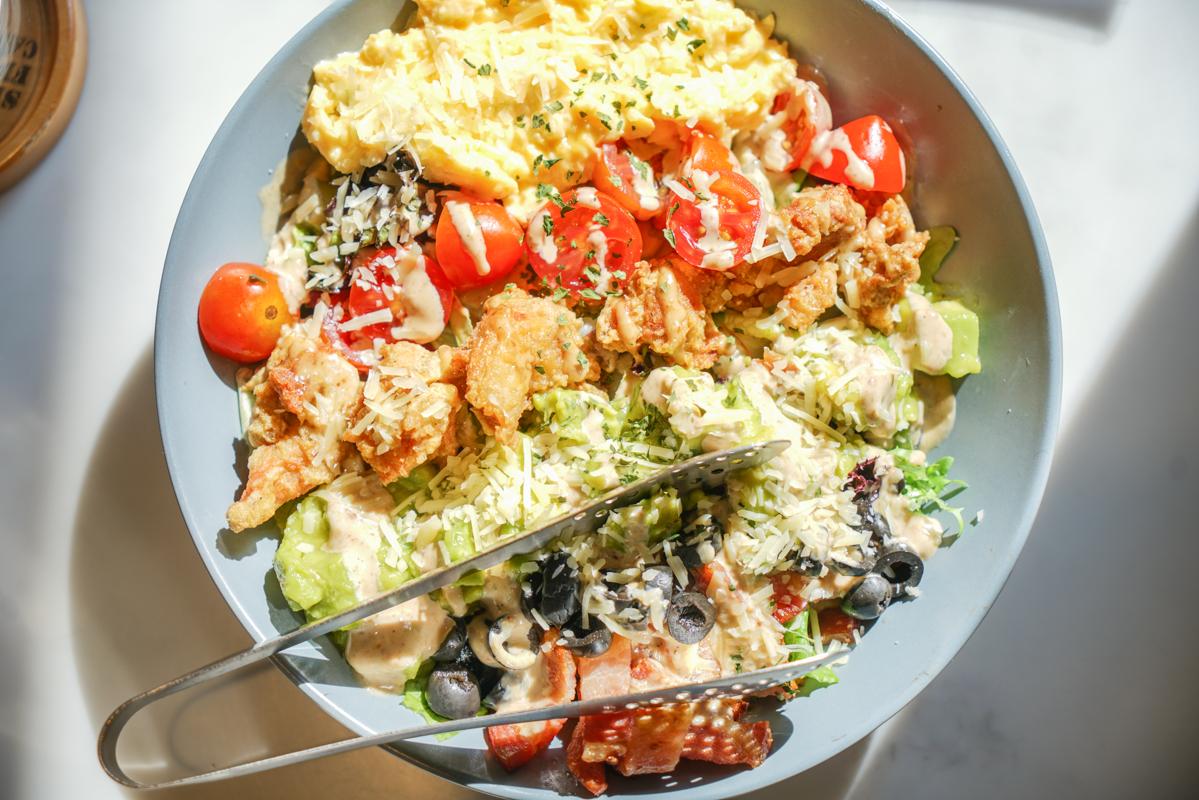 公館早午餐 有陽光味道的美式早午餐,大盤沙拉全天候供應『貳樓餐廳』 @梅格(Angelababy)享樂日記