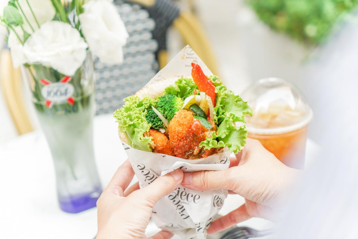 松江南京站咖啡|台北新開幕歐風露天咖啡、好吃道地法式捲餅『Pièce 法式餐車』菜單 @梅格(Angelababy)享樂日記