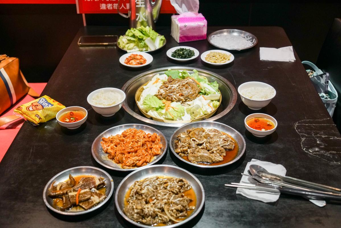 公館韓國烤肉吃到飽|太扯了台北300元起烤肉吃到飽『梅江韓國烤肉』公館聚餐 @梅格(Angelababy)享樂日記