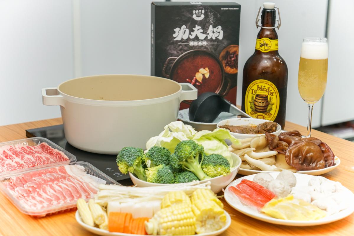 被餐酒館耽誤的滷味專家『三麥廚房 360 』居家微醺儀式感、宵夜必備:椒朋友滷味、可以喝的麻辣湯『紅面關公煮』 @梅格(Angelababy)享樂日記