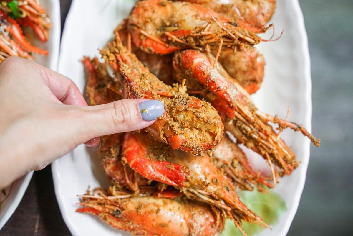 中和美食|愛吃胡椒蝦、泰國蝦推薦『景安路活蝦之家』菜單、中和外帶人氣美食 @梅格(Angelababy)享樂日記