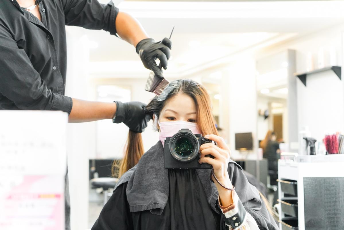 板橋染髮推薦 新北超值染髮、護髮買一送一『Wor Hair 府中店』府中站美髮、府中站染髮 @梅格(Angelababy)享樂日記