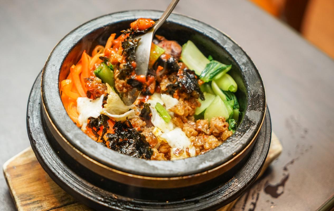 台中韓國料理推薦 一秒掉入韓劇食堂、好吃人蔘雞、牛尾湯推薦『朴山傳統韓國料理店』 @梅格(Angelababy)享樂日記