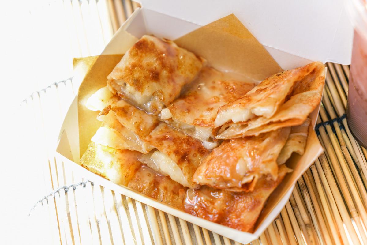 西門美食| 一秒到泰國的甜蜜香蕉煎餅『太泰-Thai Thai香蕉煎餅』新菜單、西門甜點下午茶、銅板下午茶推薦 @梅格(Angelababy)享樂日記