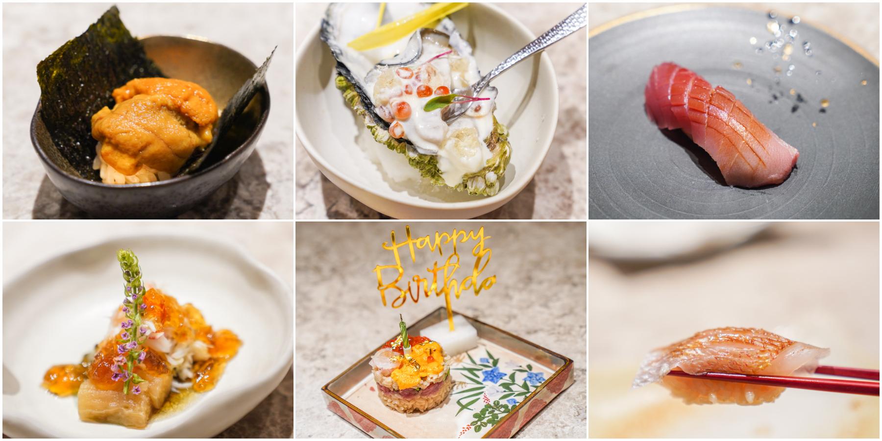 台北無菜單日本料理 專人服務包廂、台北慶生約會餐廳、海膽生日蛋糕『二階割烹 Nikai』價格、預約制無菜單推薦 @梅格(Angelababy)享樂日記