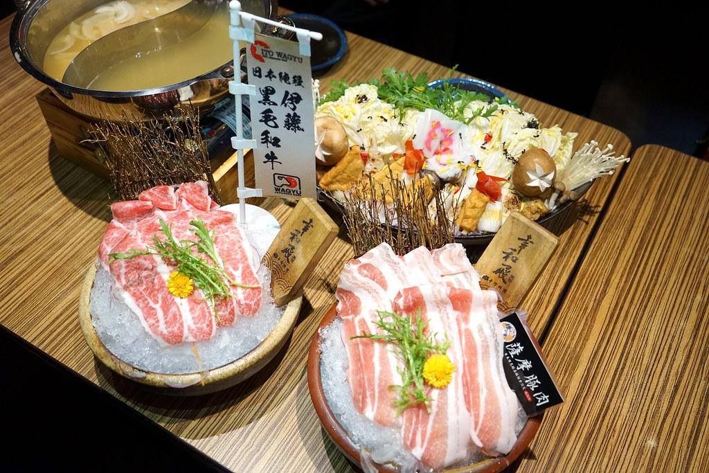 西湖站 奶油香甜的日本伊藤和牛鍋物 #幸和殿 手作料理 #溫暖人氣手作日式料理 #薩摩豬肉味增鍋 @梅格(Angelababy)享樂日記