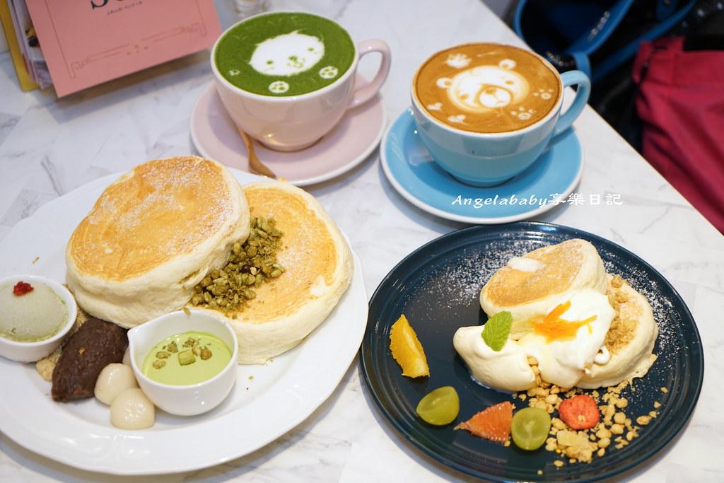 信義日本來台鬆餅店 Café del SOL 福岡人氣第一鬆餅 網美咖啡 早午餐 粉紅沙發 @梅格(Angelababy)享樂日記