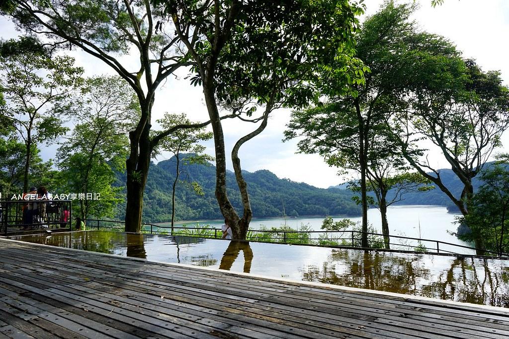 桃園祕密約會景點『水漾石門』景觀咖啡、湖景咖啡、露營區 @梅格(Angelababy)享樂日記