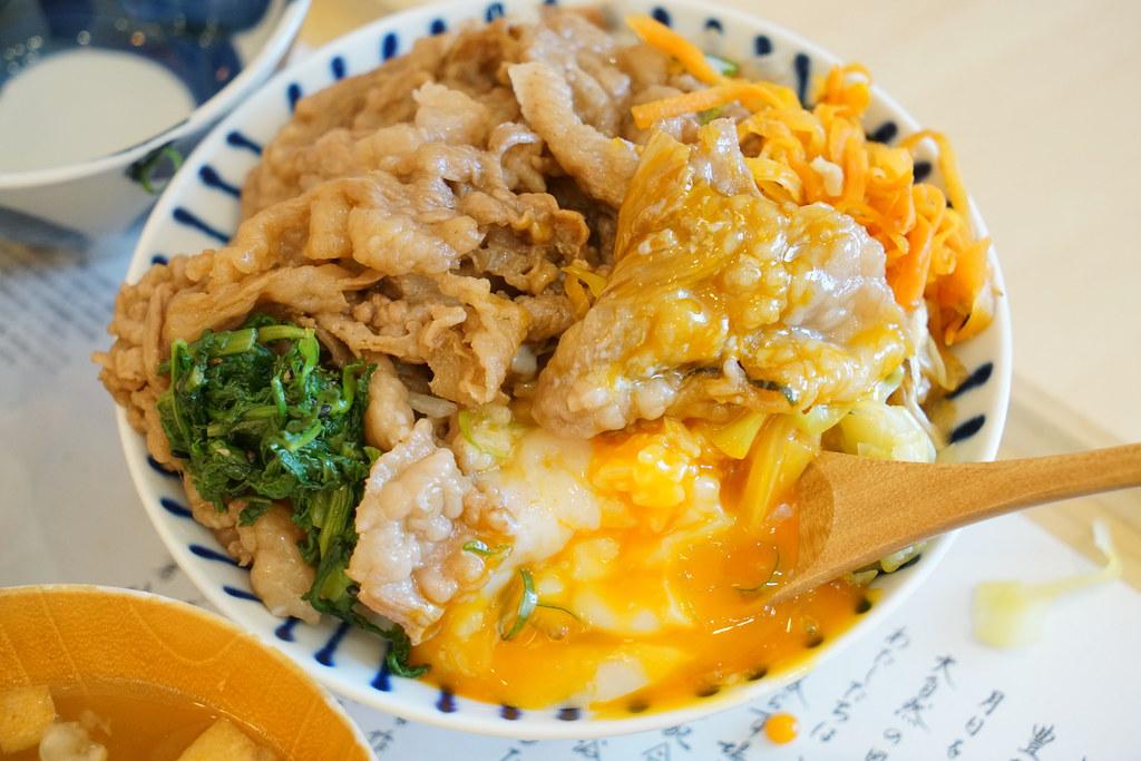 日本鳥取必吃 大江之鄉自然牧場HANARE 生蛋拌飯 小菜吃到飽 柯南機場美食 @梅格(Angelababy)享樂日記