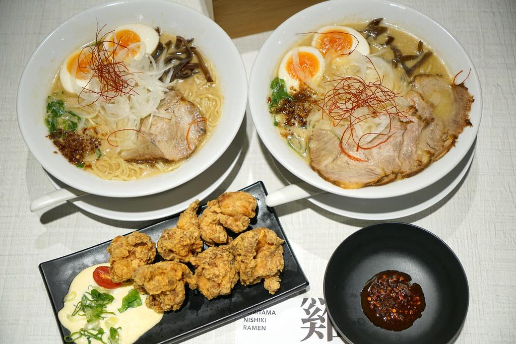 日本來台人氣拉麵 雞玉錦拉麵 Nishiki 台北101美食 雞湯拉麵 @梅格(Angelababy)享樂日記