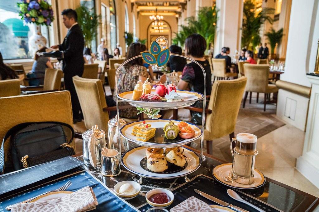 香港半島酒店下午茶 世界經典英式下午茶 香港尖沙嘴必訪行程 @梅格(Angelababy)享樂日記