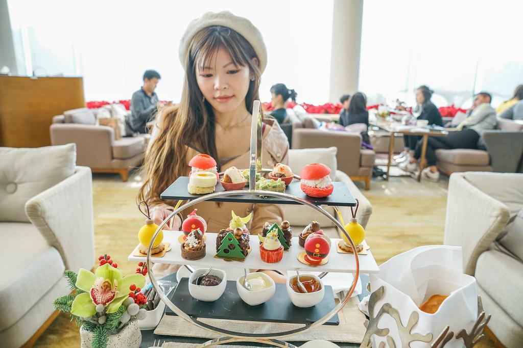 香港洲際下午茶『POLA Afternoon Tea Set』全球最佳海景餐廳、跨年煙火秀 @梅格(Angelababy)享樂日記