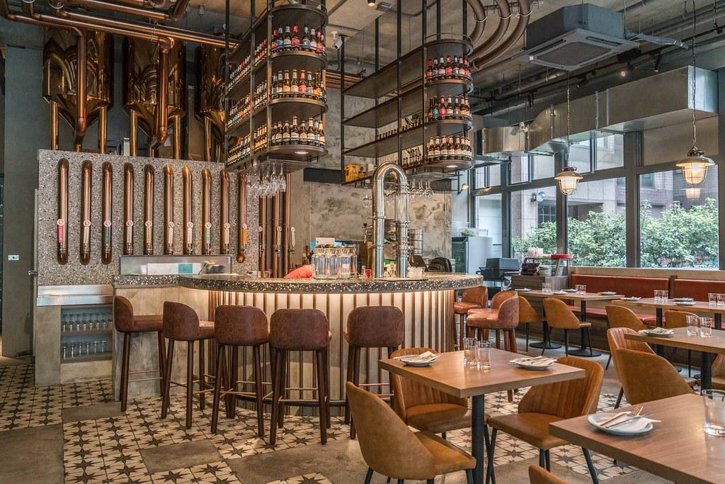 忠孝復興必訪的英國風啤酒餐廳 little Creatures Taipei 小天使精釀啤酒 ig熱門打卡點、早午餐、手工漢堡、約會餐廳 @梅格(Angelababy)享樂日記