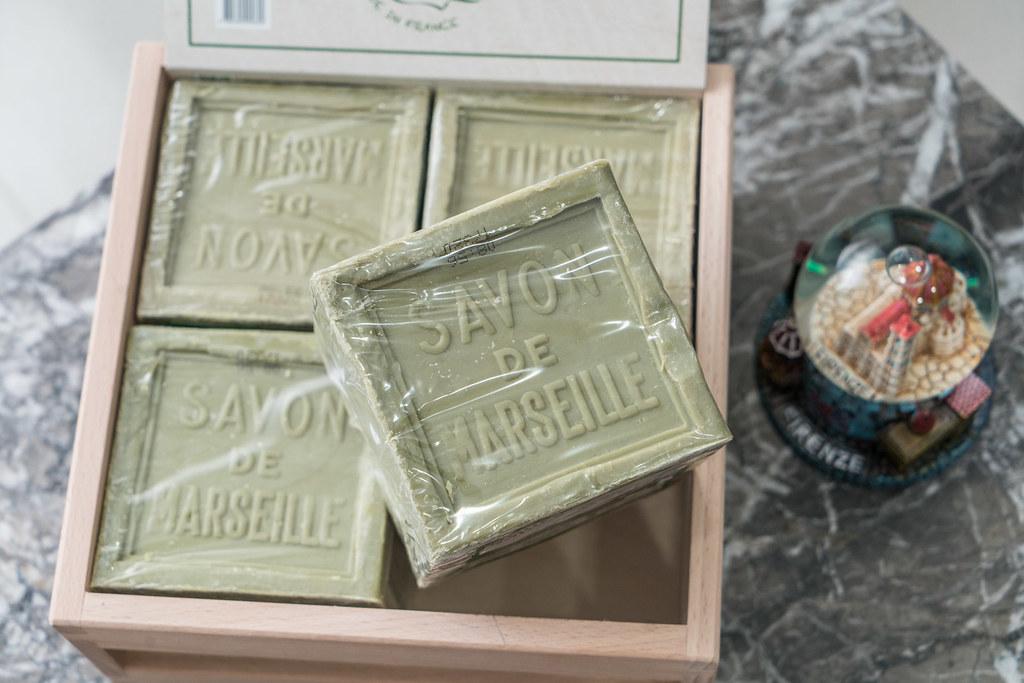 Douce Nature地恩『法國馬賽皂』 好市多香皂、萬用香皂、敏弱肌適用 @梅格(Angelababy)享樂日記