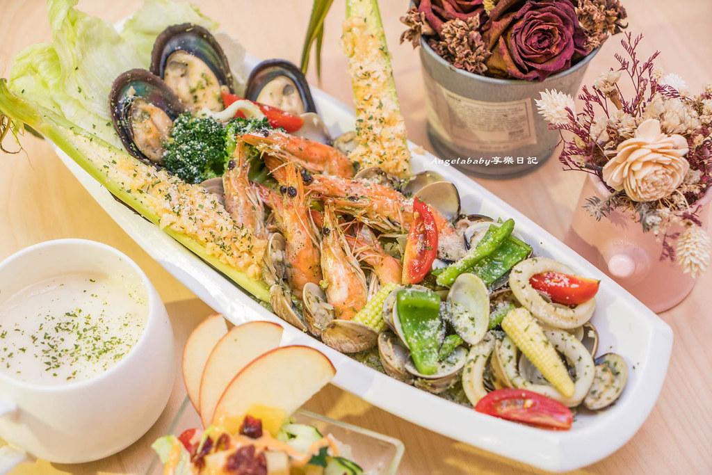 西門必吃浮誇美食|Al revés 顛倒餐廳 爆料的漁夫們吃吃飯吧、ig打卡熱門、中西合併的美味義大利麵 @梅格(Angelababy)享樂日記