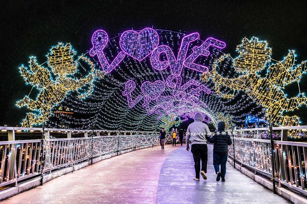新北最美戀愛步道 白色情人節打卡熱點 新北大都會公園、邱比特隧道、新北銀河步道、新北銀河系夜景 @梅格(Angelababy)享樂日記