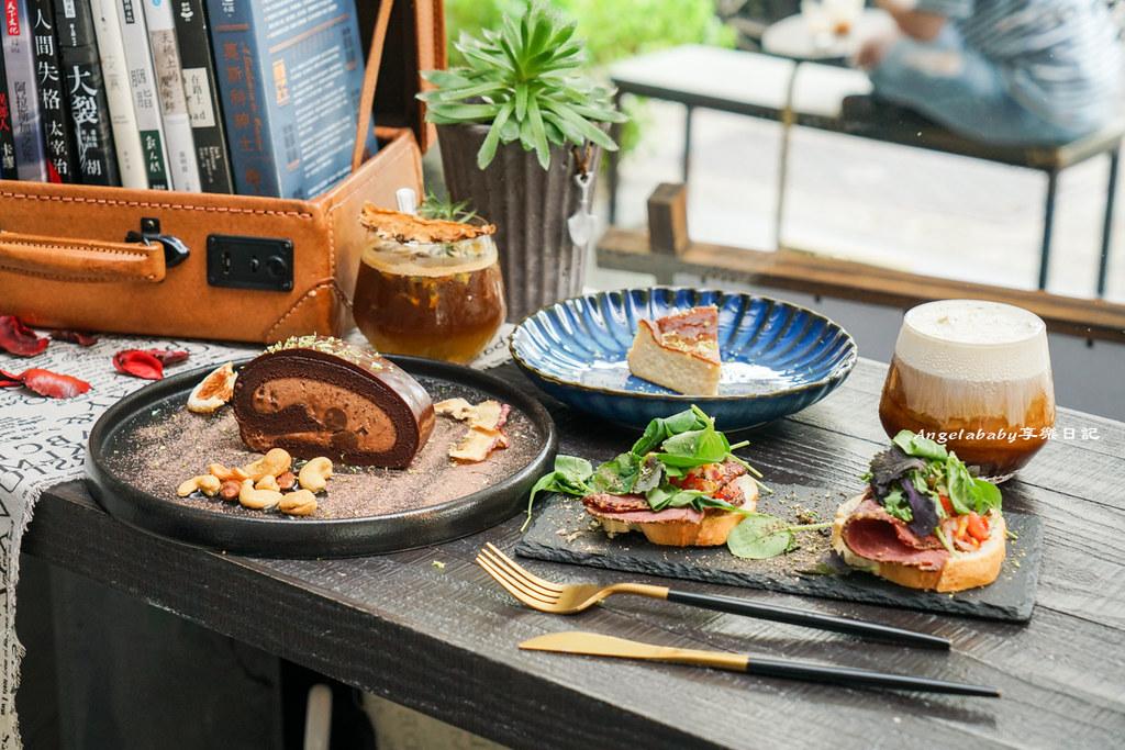 穠咖啡 nong coffee roaster 士林北投咖啡、插座咖啡、限量手作甜點、台北第一巴斯克乳酪蛋糕、台北咖啡廳推薦、明德站咖啡推薦 @梅格(Angelababy)享樂日記