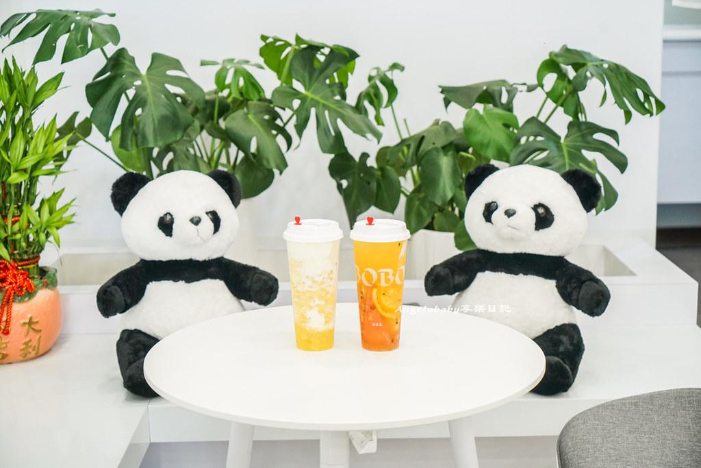 信義區永春站新開幕超萌手搖飲|Taipei Bobo Tea 不限時插座咖啡 好喝推薦:鳳梨樂芝芝、滿杯水果茶 @梅格(Angelababy)享樂日記