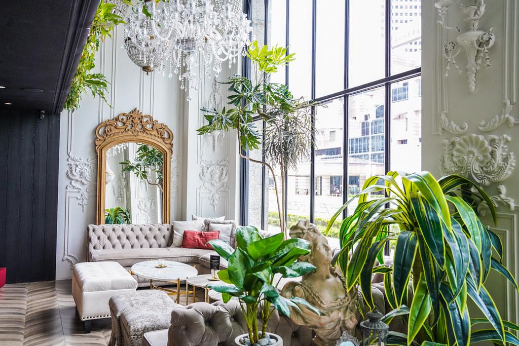 信義區最美歐洲巴黎酒吧『Opium Champagne Bar』台北101站下午茶、信義區網美打卡、網美酒吧、ig打卡熱門 @梅格(Angelababy)享樂日記