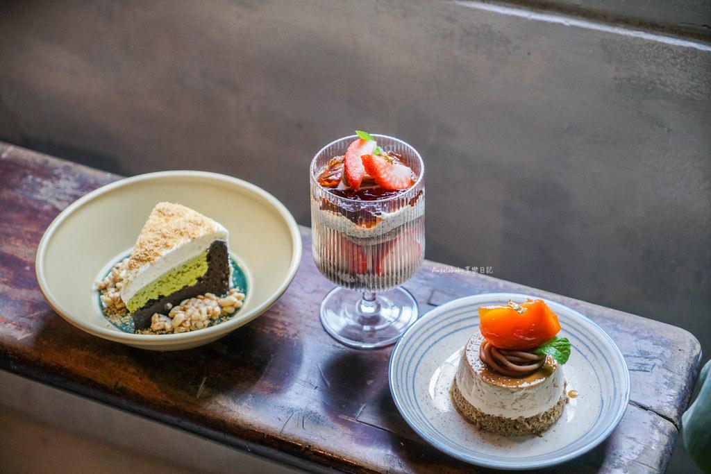 板橋新開幕三合院老宅咖啡館『微間素生MI-KAN STUDIO』超好吃甜點、露天咖啡、ig打卡熱門 @梅格(Angelababy)享樂日記