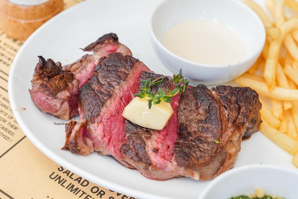 米其林推薦牛排只要1000元!!!還有薯條吃到飽『La Blanc』大安站必吃、龍蝦牛排、約會餐廳、異國風早午餐、好吃千元肋眼牛排 @梅格(Angelababy)享樂日記