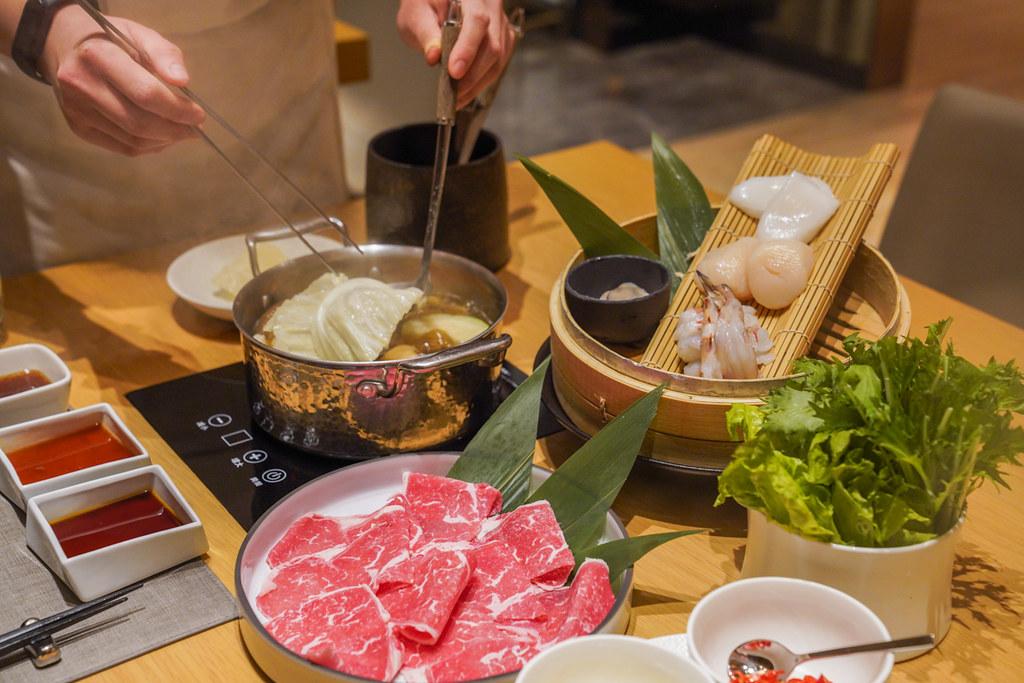 大直頂級鍋物『Mark's shabu Marriott Taipei』台北萬豪酒店餐廳推薦、台北包廂餐廳、免動手火鍋 @梅格(Angelababy)享樂日記