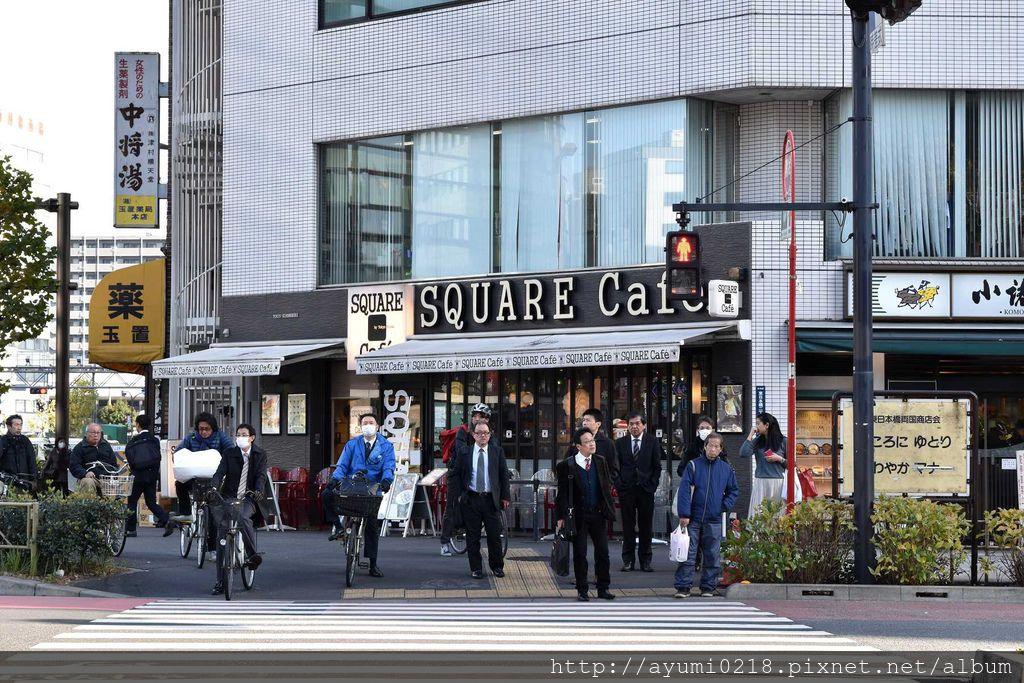 淺草 型男上班族愛的 Square cafe * 超好喝咖啡 X 手工餅乾 * @梅格(Angelababy)享樂日記