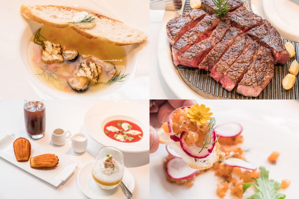 台北頂級牛排推薦『地中海牛排館 歐華飯店』美國濕式熟成45天極黑神戶肋眼牛排、約會餐廳、白金級美國牛肉 @梅格(Angelababy)享樂日記