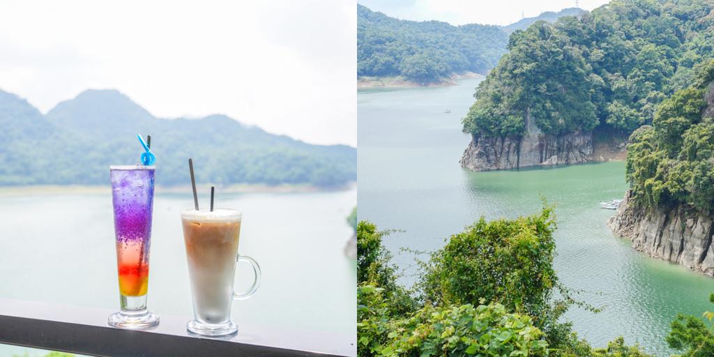 大溪湖畔咖啡 桃園景觀餐廳、大溪水岸景觀咖啡、侏羅紀世界夢幻湖景 @梅格(Angelababy)享樂日記