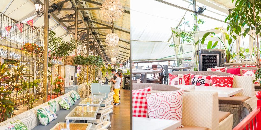 碧潭BALI水灣餐廳 新北景觀餐廳推薦、音樂餐廳、小碧潭站美食、峇里島風情咖啡吧 @梅格(Angelababy)享樂日記