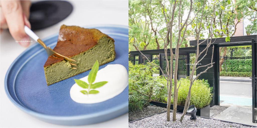隱身在市區裡的日式小京都『Cosmoship 宇宙小艇』大安森林公園站下午茶、台北第一磅蛋糕、插座咖啡、抹茶控必吃小山園巴斯克蛋糕 @梅格(Angelababy)享樂日記