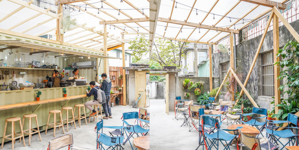 板橋絕美露營風咖啡『Jag這個·浮洲』ig打卡熱門(原 33巷咖啡)板橋台藝大學區美食、隱身在眷村內的夢幻咖啡吧 @梅格(Angelababy)享樂日記