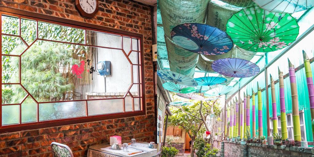 苗栗聚餐『夢鼎軒精緻客家餐飲』古色古香中式料理、不油膩的好吃客家菜、紙傘庭院 @梅格(Angelababy)享樂日記