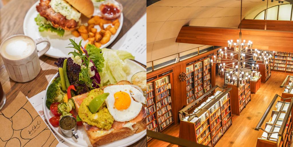 中山站好吃早午餐|大口吃超厚巨無霸漢堡『Waku Waku Burger 中山店』、中山站輕食下午茶、超好吃酪梨鮭魚早午餐 @梅格(Angelababy)享樂日記