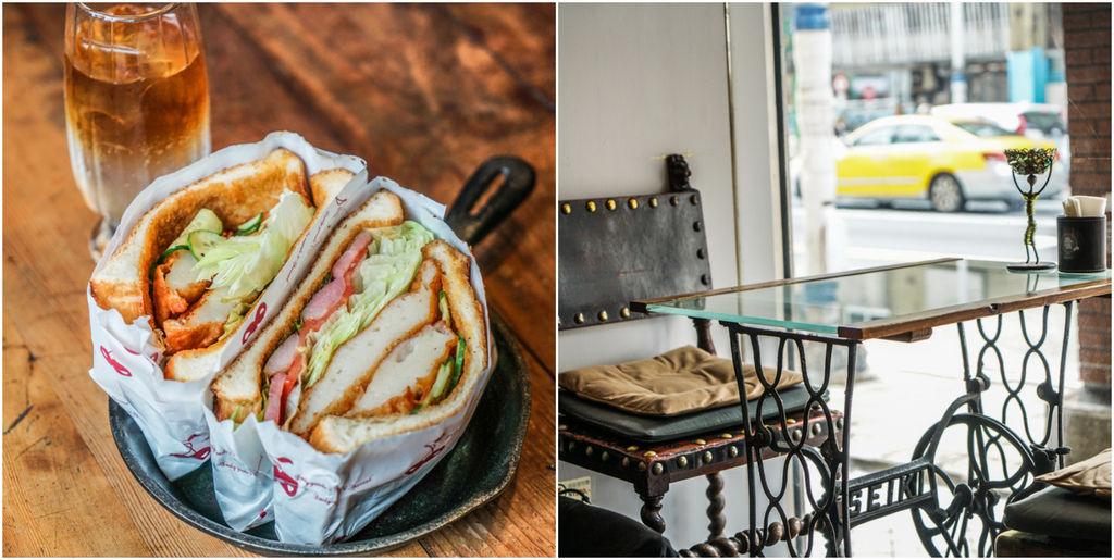 基隆老上海風咖啡店『丸角』老宅咖啡、基隆咖啡店推薦、食尚玩家採訪 @梅格(Angelababy)享樂日記